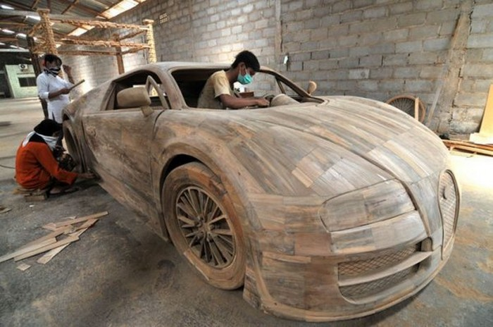 Как сделать настоящую машину из дерева своими руками